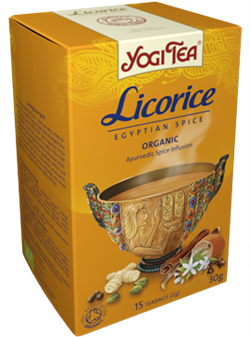 Yogi Tea «Licorice» (Солодка) - фото 4293
