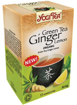 Yogi Tea «Green Tea Ginger Lemon» - фото 4325