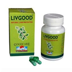 LIVGOOD (Ливгуд) - защита печени от вредного воздействия алкоголя и вредных привычек питания - фото 5674