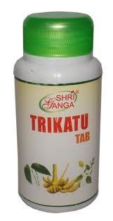 TRIKATU tab (Трикату) - свобода от шлаков (ама), мощный огонь пищеварения (агни) - фото 5688