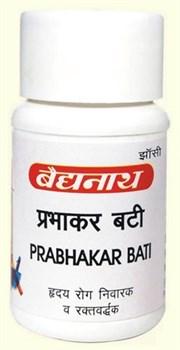Prabhakar bati (Прабхакар бати) - аюрведический тоник для сердца - фото 5749