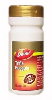 Трифала Гуггул Дабур (Dabur Trifla Guggulu) 80таб. - фото 6054