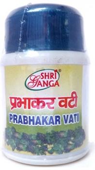 Prabhakar Vati (Прабхакар вати) - аюрведический сердечный тоник, укрепляет сердечную мышцу, стимулирует кровообращение - фото 6207