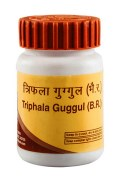 Divya Triphala Guggul (Трифала Гуггул) - сбалансированное омолаживающее и мягкое очищающее средство - фото 6466