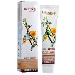 Лечебный травяной гель Patanjali Dant Kanti Medicated - фото 6599
