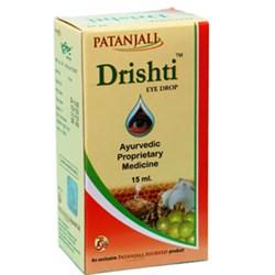 Капли для глаз Patanjali Drishti Eye Drop - фото 6602