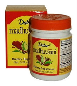 Madhuvaani (Мадхуваани густой сироп) - от кашля - фото 6643