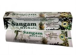 Аюрведическая травяная зубная паста Sangam Herbals - фото 7078
