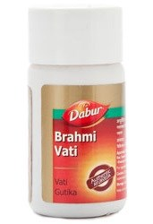 Brahmi vati Dabur (Брами таблетки Дабур) - тоник для мозга и нервной системы - фото 7136
