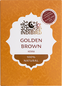 Хна натуральная золотисто-коричневая - фото 7176