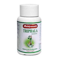 Triphala Guggulu (Трипхала Гуггул) - освобождение от токсинов, очищение организма - фото 7195