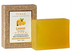 Натуральное лимонное мыло ручной работы  - фото 7311