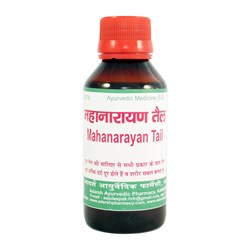 Mahanarayan Tail Adarsh - омолаживающее, тонизирующее масло, афродизиак - фото 7812