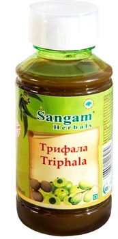 Triphala ras (Трифала сок) - сок трёх фруктов: амла, харитаки, бибхитаки - фото 7892