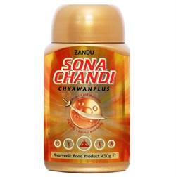 Чаванпраш Sona Chandi - с золотом и серебром - фото 8884