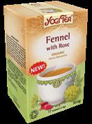 Yogi Tea Fennel with Rose (Фенхель с розой)
