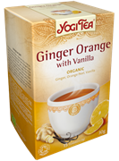 Yogi Tea «Ginger Orange with Vanilla» (Имбирь с апельсином и ванилью)