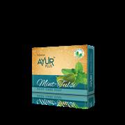 Мыло профилактическое, из душистого, целебного растения тулси с мятой