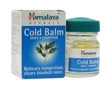 Cold balm - согревающий бальзам от простуды Хималая