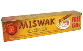 Индийская зубная паста Dabur Miswak Gold