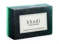 Глицериновое мыло ручной работы KHADI с абрикосовыми косточками