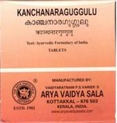 Kanchanaragulgulu (Канчанар гуггул) - при заболеваниях лимфатической системы