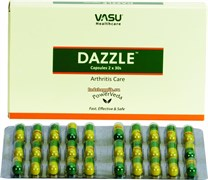 Dazzle Vasu capsules - эффективное фитосредство от артрита, 60 капсул