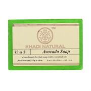 Глицериновое мыло ручной работы KHADI с авокадо