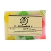 Глицериновое мыло ручной работы KHADI  фруктовый микс