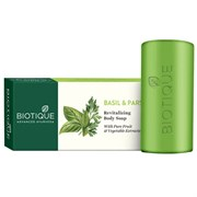 Мыло для тела с базиликом и петрушкой Biotique - восстановление и защита