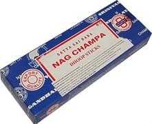 """Индийские благовония """"Nag Champa agarbatti"""" безосновные"""