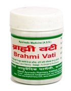 Brahmi Vati (Адарш Брами вати) 40гр. - ясность ума, крепкая память, баланс ЦНС
