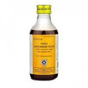 Valiya Sahacharadi tailam (Валья Сахачаради) - масло для тех, кто проводит много времени на ногах