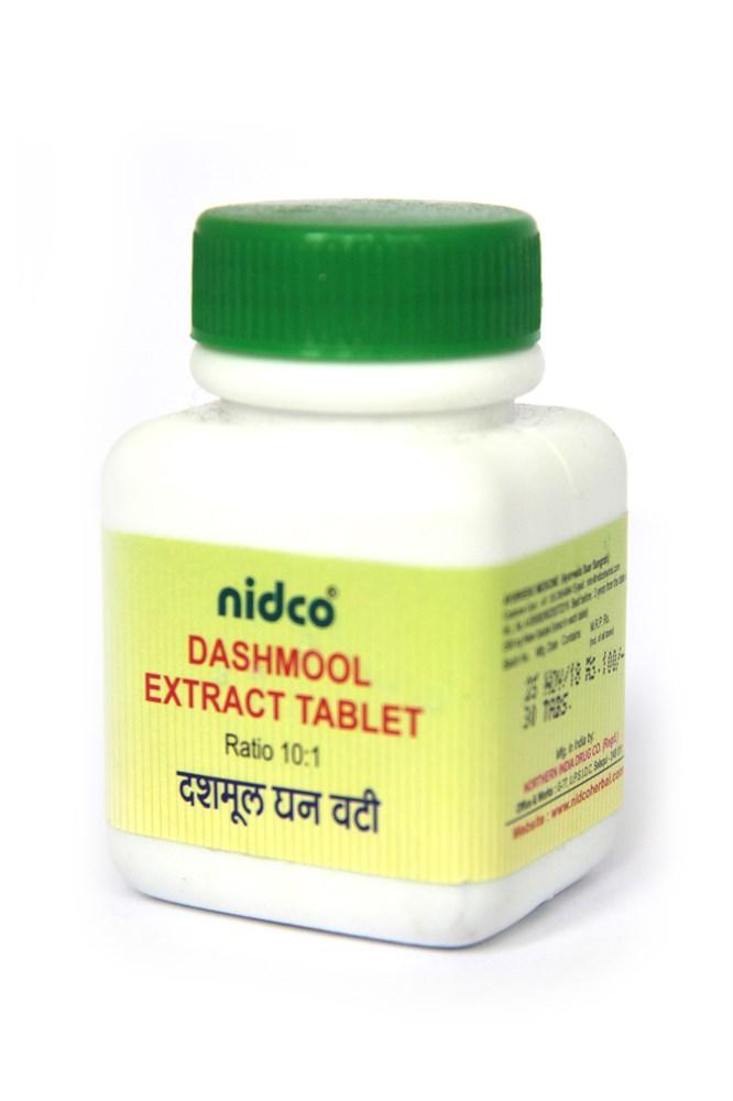 Dashmool Extract Tablet (Дашамула) - смесь десяти корней , 30 таб из Индии  купить в Москве - цены в интернет-магазине Аюрведа Фреш