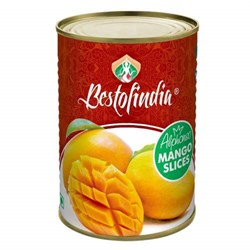 Mango Alphonso Slices Bestofindia (Манго Альфонсо кусочки), 450 г. - фото 10039