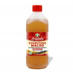 Sesame Oil With Black Sesame (Нерафинированное кунжутное масло из семян черного кунжута) - улучшает пищеварение, 200 мл.  - фото 10043