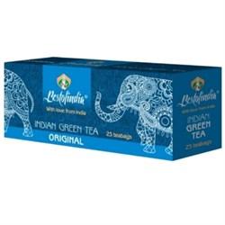 Зеленый индийский освежающий чай в пакетиках Оригинальный - фото 10057