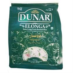 Рис Басмати супер длиннозерный Dunar Elonga, 1кг. - фото 10118
