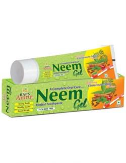 Neem Gel Tooth Paste (Травяная зубная паста-гель с Нимом), 150 г. - фото 10148