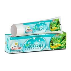 Mint Tooth Paste Травяная освежающая зубная паста с мятой, 150 г. - фото 10150