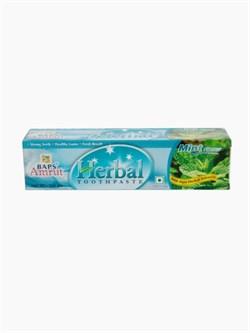 Mint Tooth Paste Травяная освежающая зубная паста с мятой, 25 г. - фото 10152