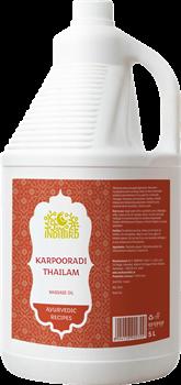Масло Karpooradi Thailam (Карпуради) - эффективное средство для суставов, 5 л. - фото 10205