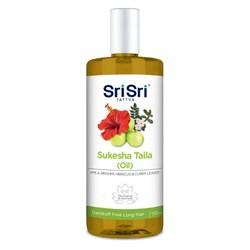 Масло для волос Sukesha (Сукеша), борется с перхотью и предотвращает облысение,100 мл. - фото 10245