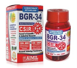 BGR-34 (БГР 34) - контролирует уровень сахара в крови - фото 10310