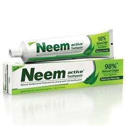 Аюрведическая зубная паста Neem Active (Ним Актив), деликатно очищает от зубного налета. - фото 10328