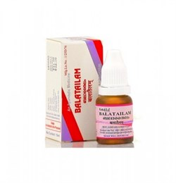 Balatailam (Бала Тайлам) - многокомпонентное лечебное масло, 10 мл. - фото 10343