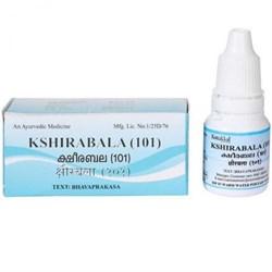 Ksheerabala 101 (Масло Кширабала 101) - омолаживающее средство, 10 мл. - фото 10344