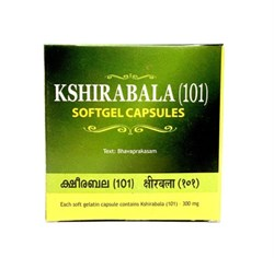 Kshirabala (101) Softgel Capsules (Кширабала (101) в капсулах ), 100 кап. - фото 10348
