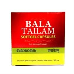 Bala Tailam Softgel Capsules (Бала Тайлам) - при неврологических нарушениях и бесплодии, 100 кап. - фото 10349