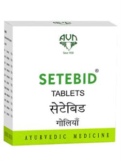 Setebid (Сетебид) - контролирует уровень сахара, 100 таб. - фото 10354